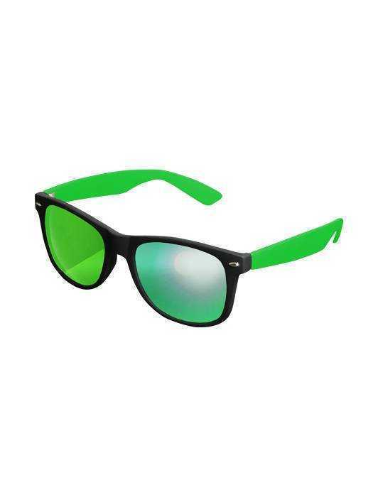 Mag Mstrds Sunglasses Likoma Mirror, Black/Green