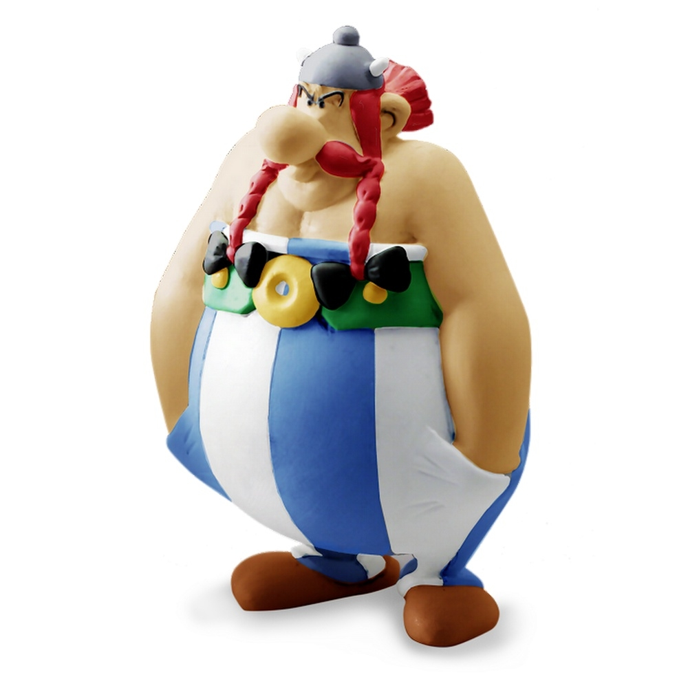 Mini Figure Obelix Mani In Tasca Asterix Plastoy 60568