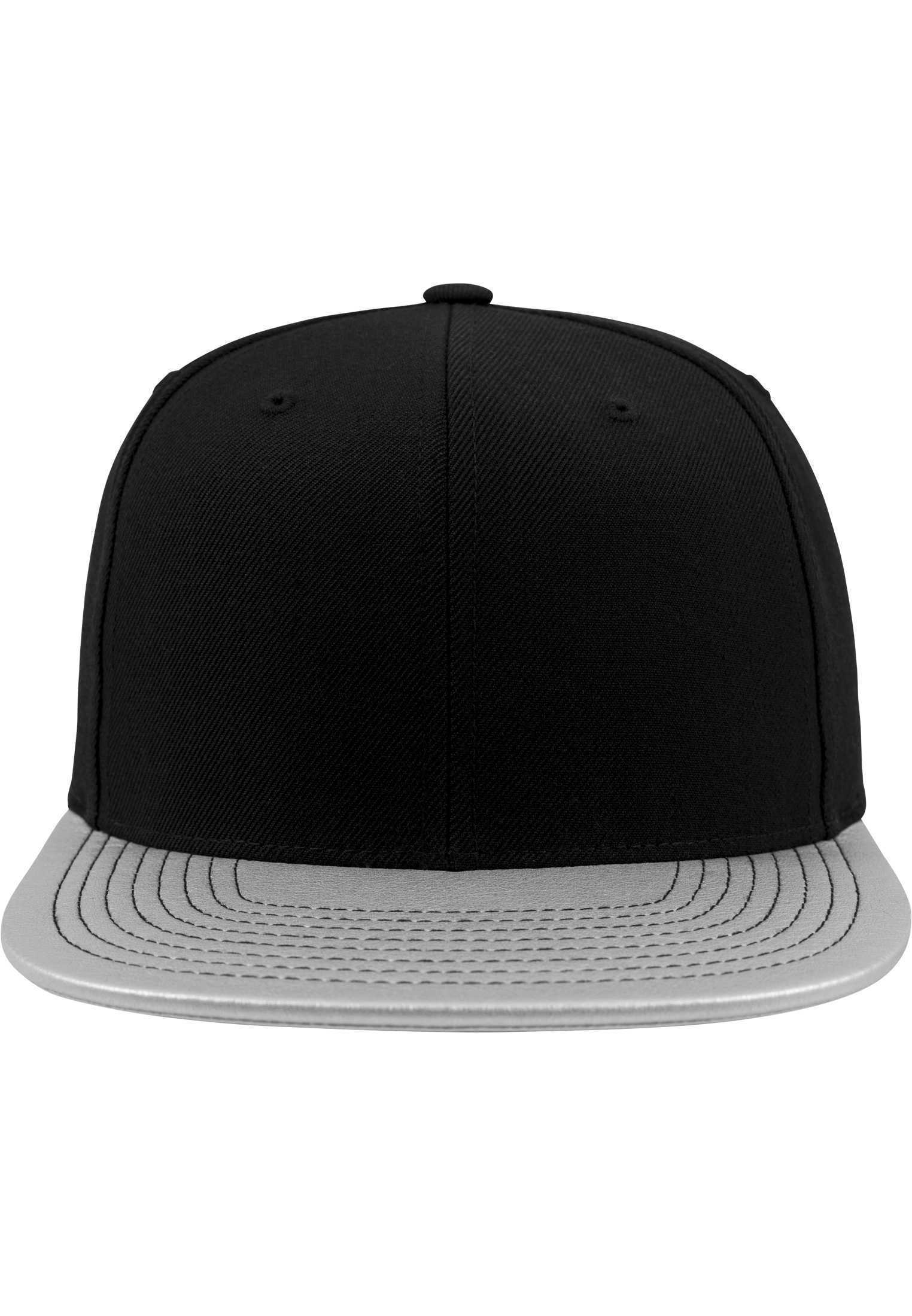 07336ef0af5 Flexfit Metallic Visor Snapback Cap Silver. About this product. Picture 1  of 2  Picture 2 of 2