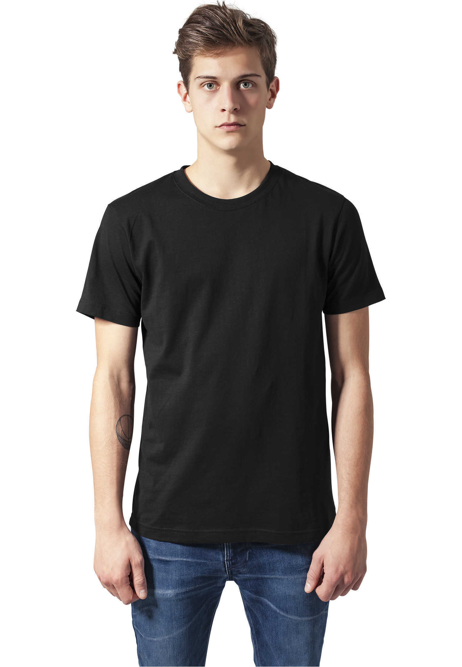 basic tee shirts urban classics streetwear men ebay. Black Bedroom Furniture Sets. Home Design Ideas