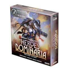 Magic Heroes of Dominaria Board Game Premium Edition Englisch The Gathering
