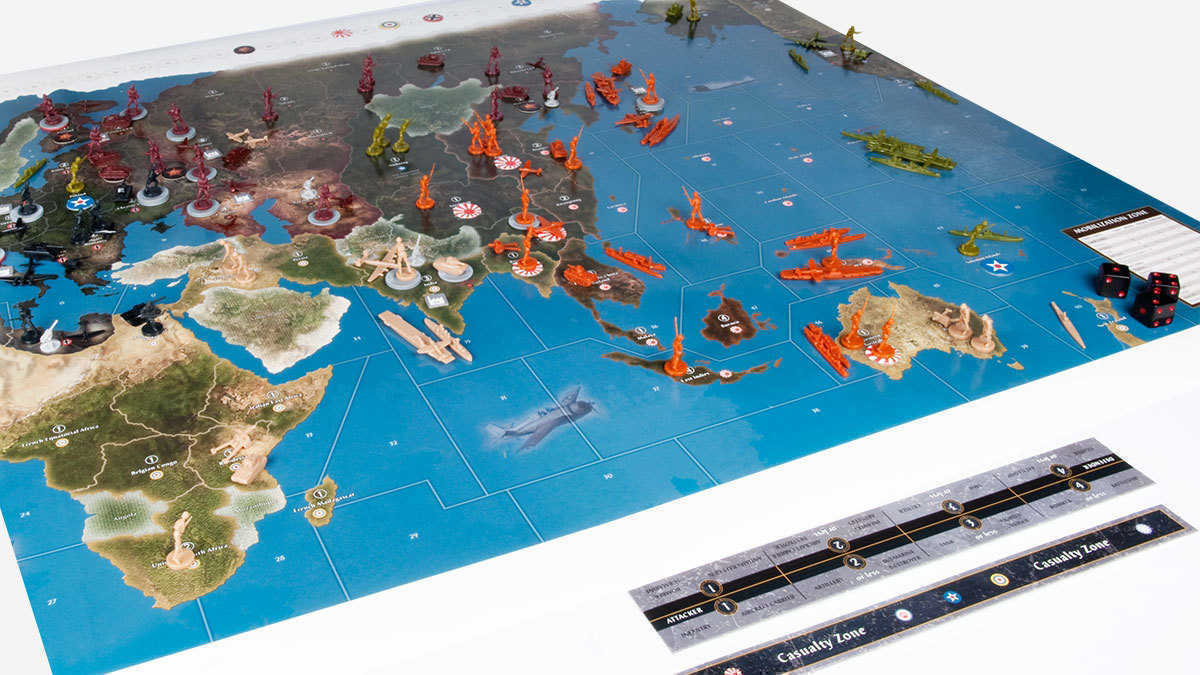 thumbnail 2 - Avalon Hill Board Game Axis & Allies 1942 2nd Edition English Wizards The